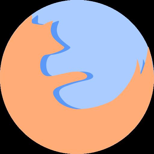 Firefox Icon Macaron Iconset Goescat