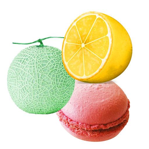 Lemon Melon Macaron