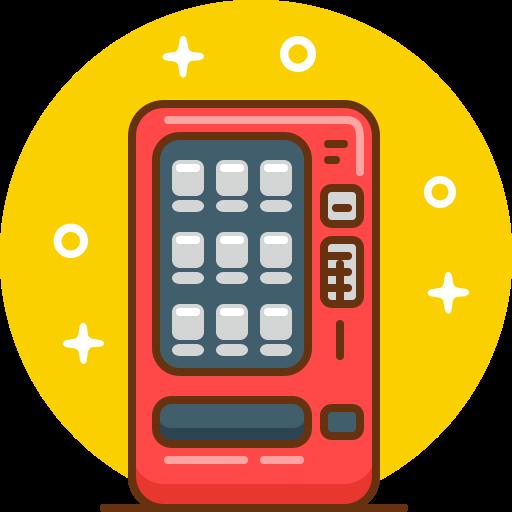 Coffee, Cola, Snack, Soda, Vending, Vending Machine Icon