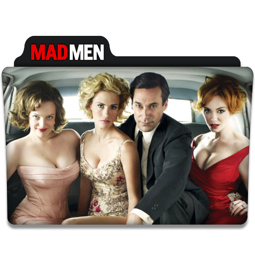 Mad Men Tv Series Folder Icon