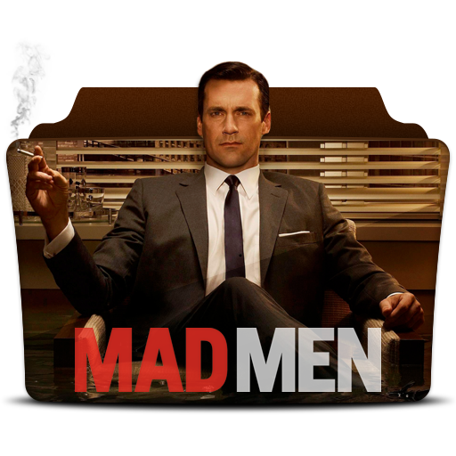 Mad Men Icon Tv Series Folder Pack Iconset