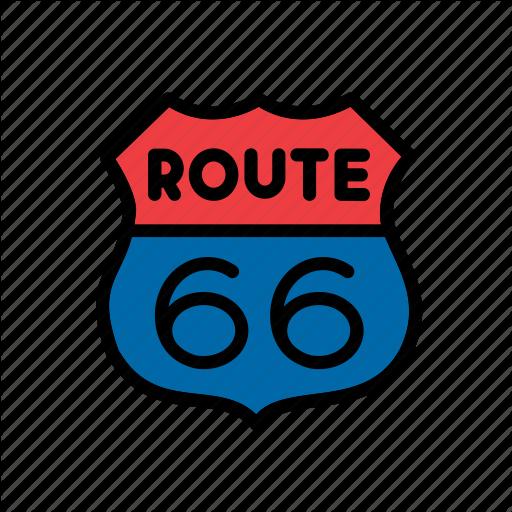 America, American, Route Sign, States, United, Usa Icon