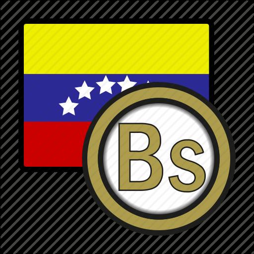 America, Bolivar, Coin, Currency, Exchange, Venezuela, World Icon