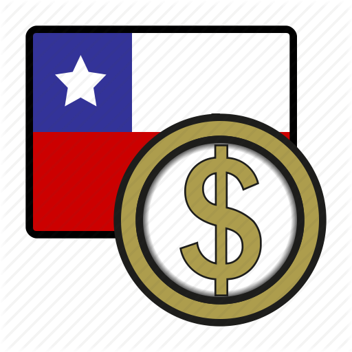 America, Chile, Coin, Currency, Exchange, Peso, World Icon