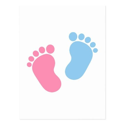 Baby Foot Step Color Decal For Car Window Laptop Fridge X