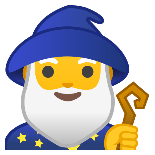 Man Mage Icon Noto Emoji People Stories Iconset Google