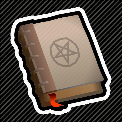 Book, Magic, Medieval, Pentagram, Spell Icon