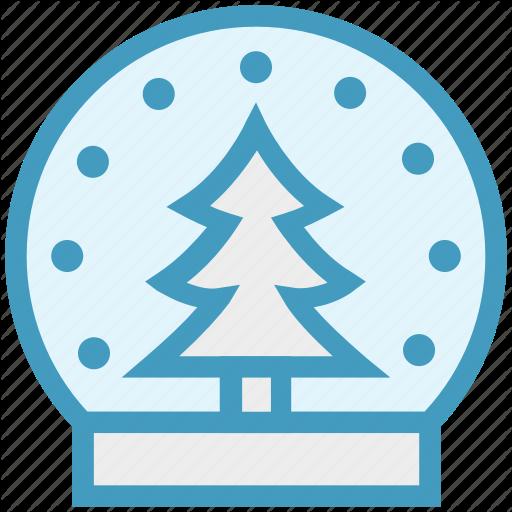Ball, Christmas, Crystal, Decoration, Magic Icon