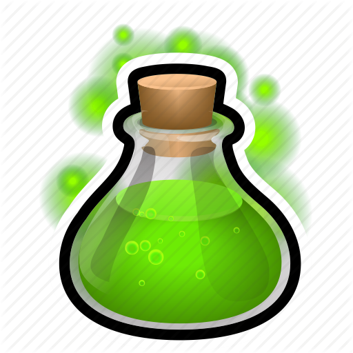 Bulb, Flask, Magic, Medieval, Potion Icon