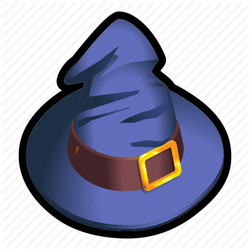 Hat, Mage, Magic, Medieval, Wizard Icon