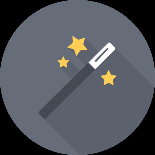 Magic, Wand Icon Free Of Flat Vector Art Tools Icons