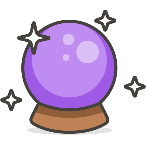 Magic Ball Icon Free Of Another Emoji Icon Set