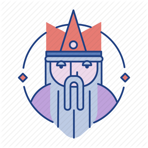 Beard, Character, Crown, Emperor, King, Kingdom, Medieval Icon
