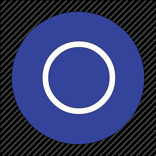 Circle, Circular, Radio, Round, Shape, Unchecked Icon