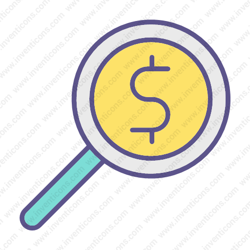 Download Money,searching Icon Inventicons