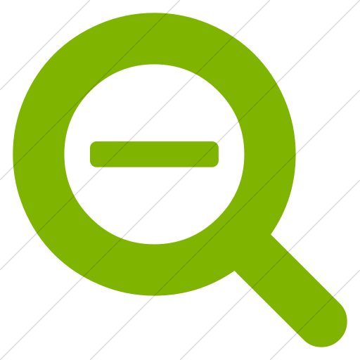 Simple Green Bootstrap Font Awesome Search Minus Icon