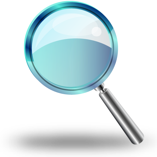 Download Crystal Style Magnifying Glass Png Image