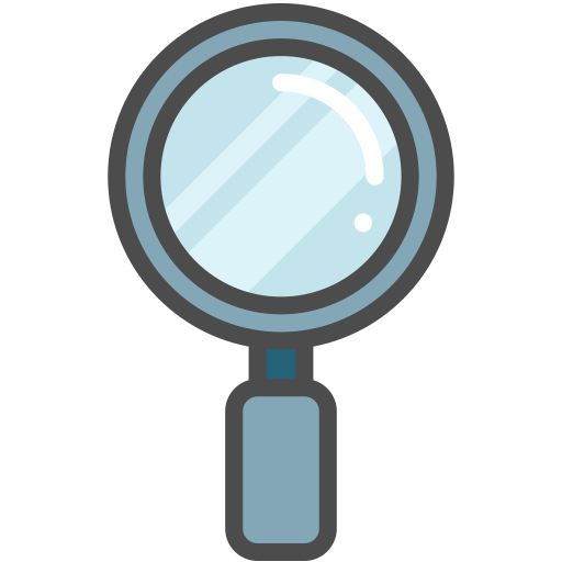 Loupe, Magnifier, Magnifying Glass Icon With Png And Vector Format