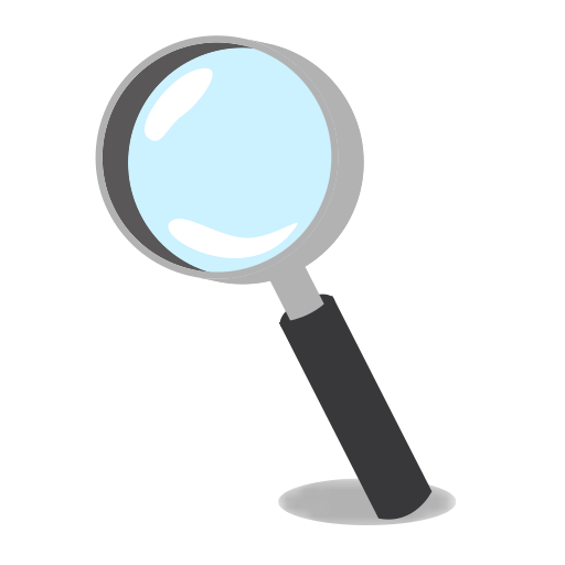 Magnifying Glass Emoji Transparent Png Clipart Free Download