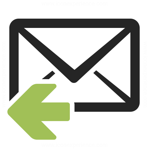 Mail Reply Icon Iconexperience