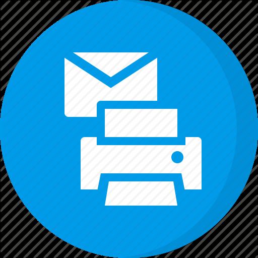 Print, Print Document, Print Email, Print Mail Icon