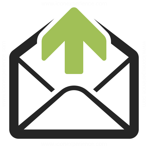 Mail Out Icon Iconexperience
