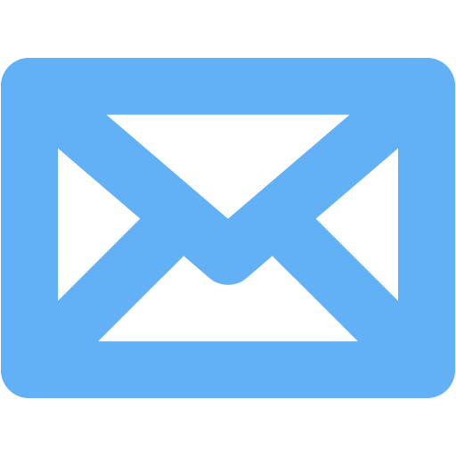 Tropical Blue Mail Icon