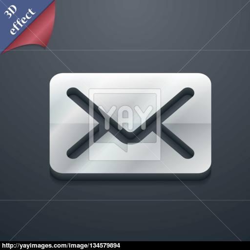 Mail, Envelope, Letter Icon Symbol Style Trendy, Modern