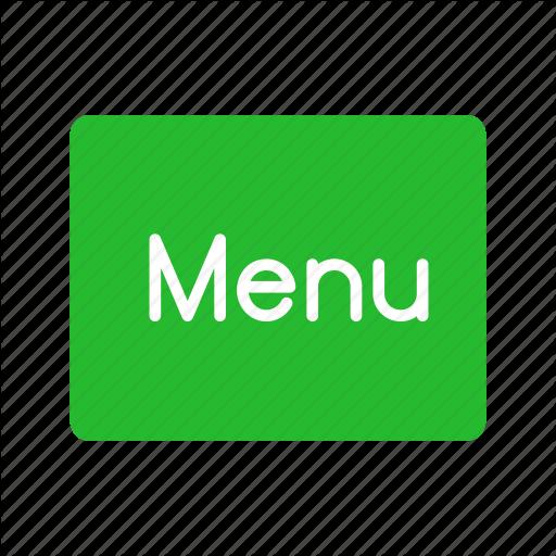 Main Menu, Menu, Menu Button, Restaurant Icon