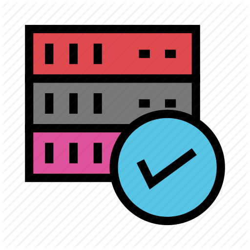 Database, Done, Mainframe, Server, Tick Icon