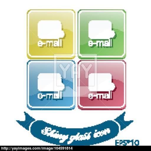 Postal Envelope E Mail Symbol Icon Envelope Vector