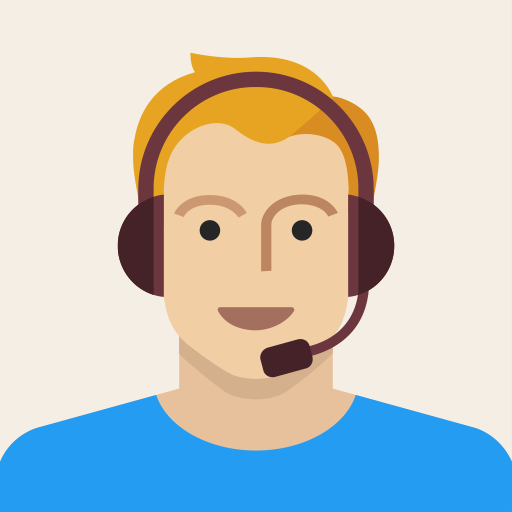 Male, Headset, Young, Man, Person, Support, Avatar Icon