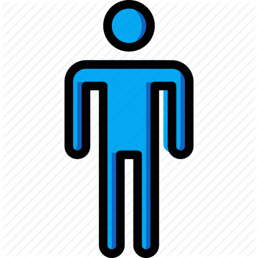 Bathroom, Color, Male, Sign Icon