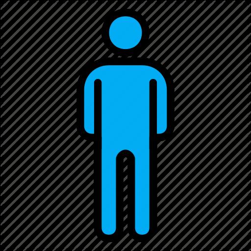 Bathroom, Flush, Male, Sign, Toilet, Wc Icon
