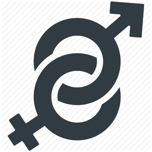 Female Gender, Gender Sign, Gender Symbols, Heterosexual, Male