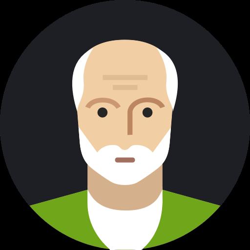 Avatar, Grandfather, Male, Man, Mature, Old, Person Icon