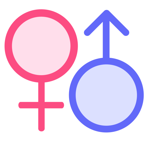 Gender, Gender Symbol, Male And Female Icon With Png And Vector