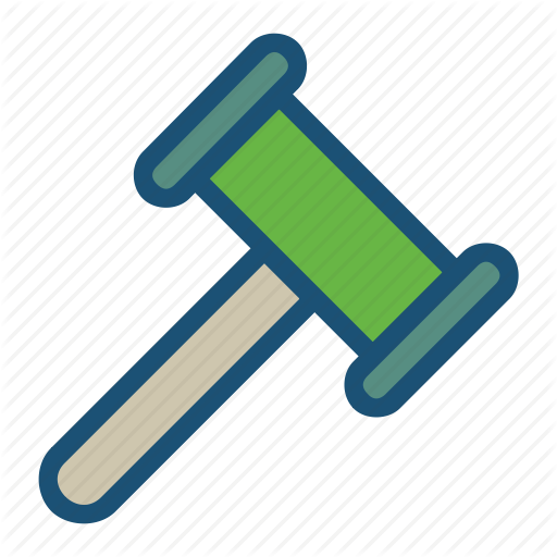 Hammer, Mallet, Order, Rubber Hammer, Wood Hammer Icon