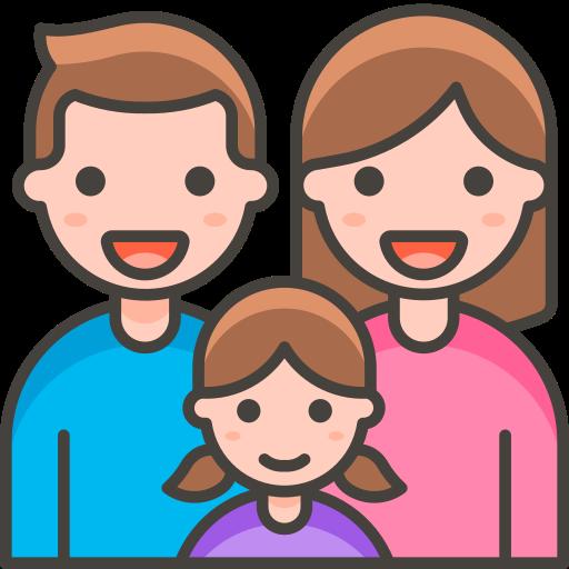 Family, Man, Woman, Girl Icon Free Of Free Vector Emoji