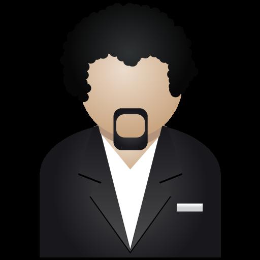 Black Man Icon People Iconset Dapino