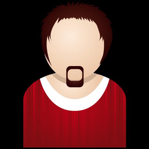 Red Man Icon People Iconset Dapino