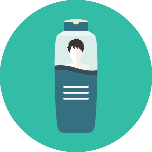 Shampoo, Hair, Man, Hair Wash Icon