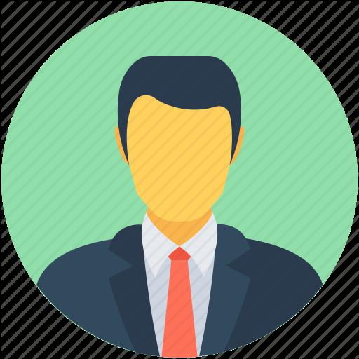 Accountant, Businessman, Ceo, Executive, Manager Icon