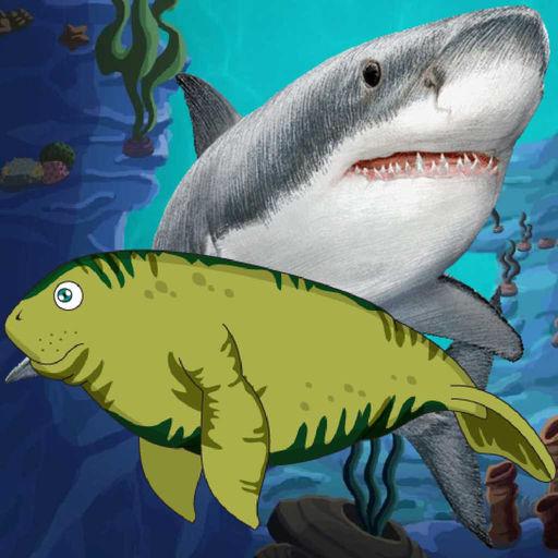 Manatee Shark Attack