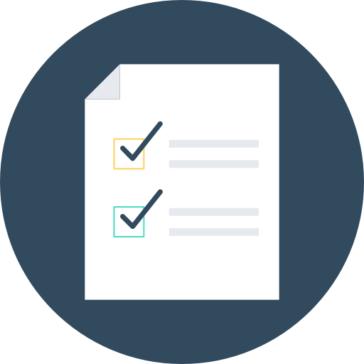 Checklist Icon Manufacturing And Production Vectors Market