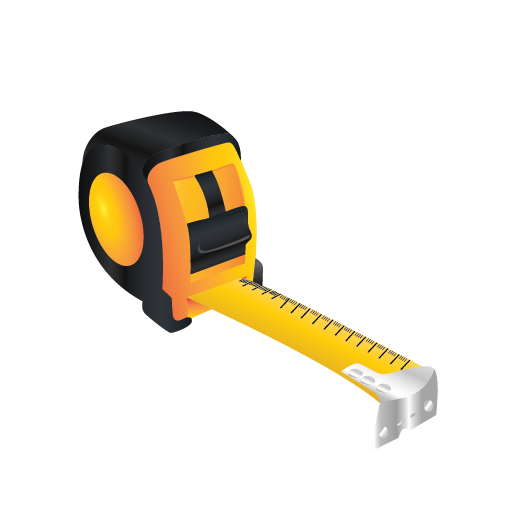 Tape Measure Icon Tools Iconset Brisbane Tank Manufacturing