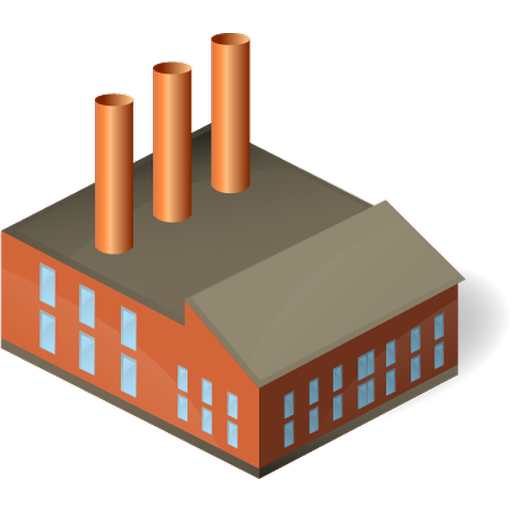 Industrial Plant Icon Images