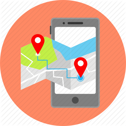 Arrow, Gps, Location, Map, Mobile App, Navigation, Pointer Icon