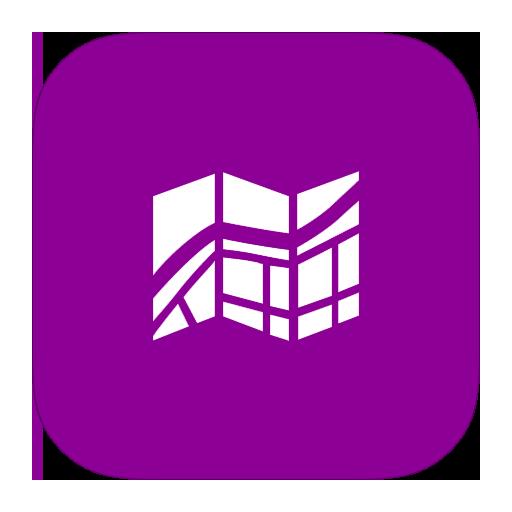 Metroui Apps Maps Icon Style Metro Ui Iconset