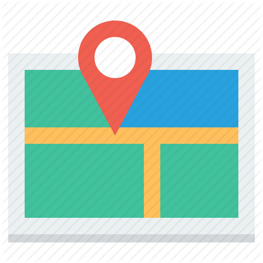 Road Map Direction Icon